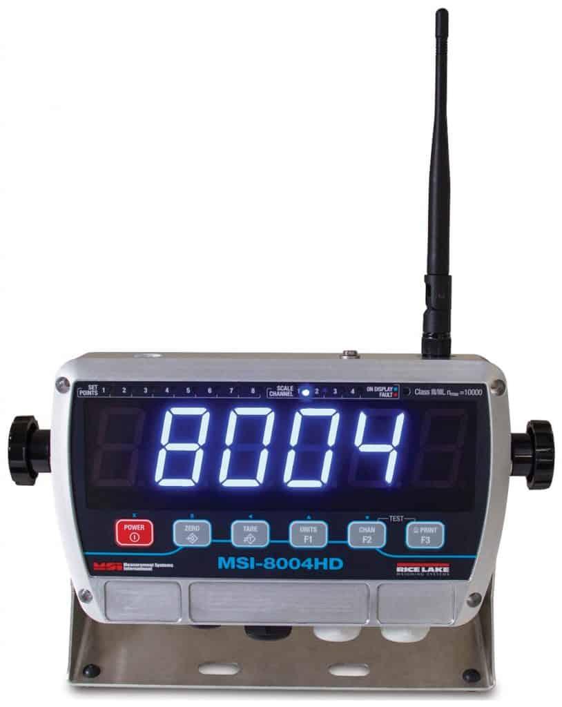 MSI-8004HD Indicator:RF Remote Display